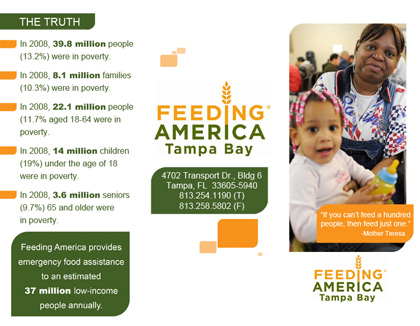 feeding america tampa bay hunger relief charity | party
